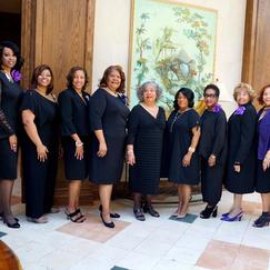 Members of Women For Progress, 2018