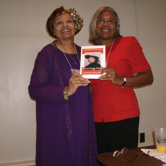 Flonzie at Miami University Book Signing