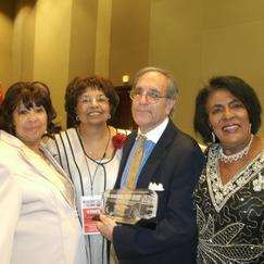 Mattie Ruth Hart, Flonzie, Freedom Rider Lou Zuckman, and Bertha Walwyn