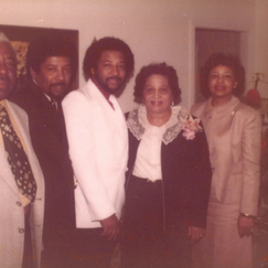 Flonzie, Mom, Dad, and Brothers 1978