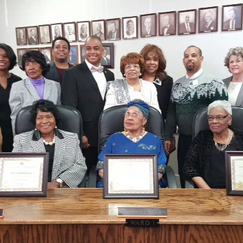 Canton Court House Dedication Group Picture