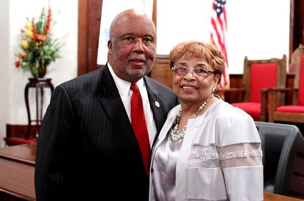 Congressman Bennie G. Thompson and Flonzie.