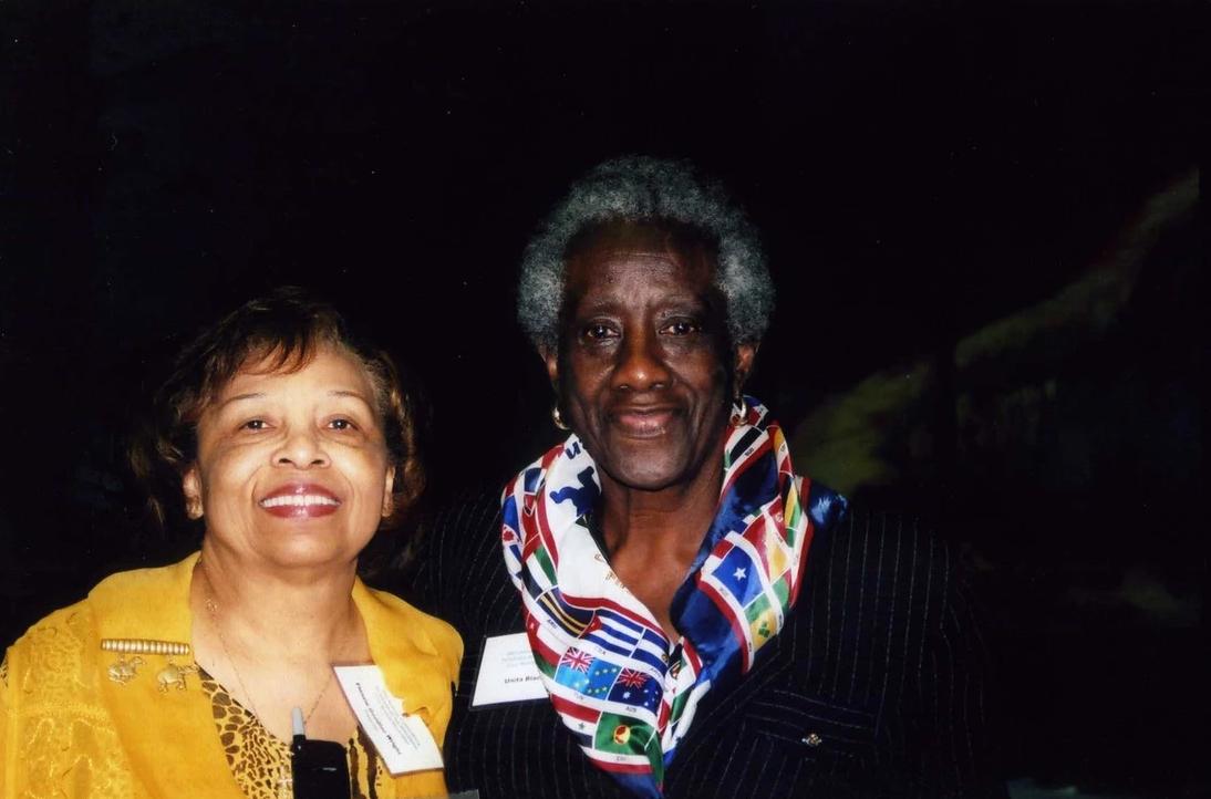 Mayor Unita Blackwell and Flonzie