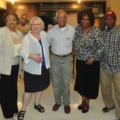 Flonzie, University of Minnesota staff, Duluth, MN, Cheryl Reitan and Hollis Watkins.