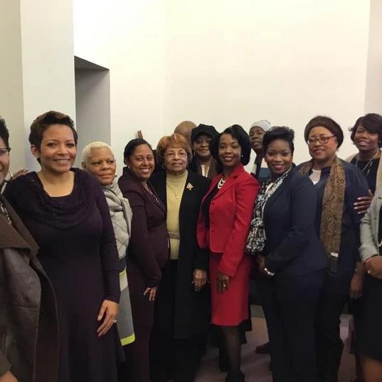 Members of Women For Progress.
