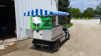 Manteno Chamber of Commerce Golf Outing Beverage Cart Sponsor