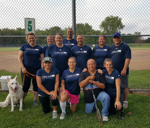 2016 Carlile Group Sponsored Softball Team