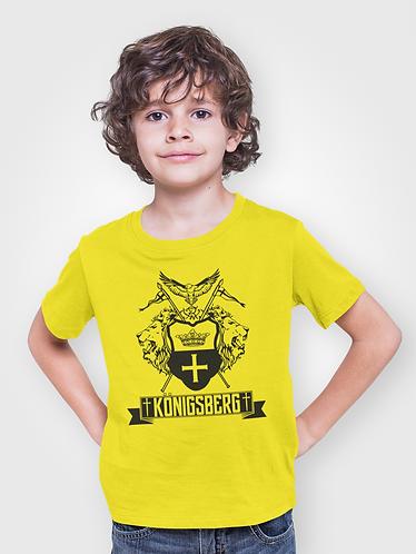 Футболка детская lions yellow