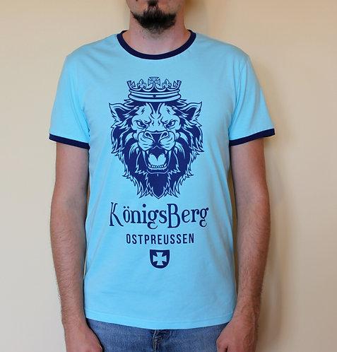 "Футболка ""Konigsberg Lion"" sky"