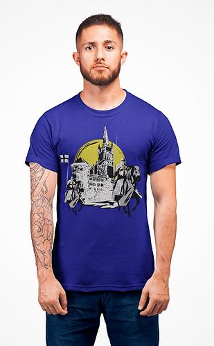 "Футболка ""Konigsberg castle"" Blue"