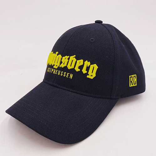 "Бейсболка ""Konigsberg"" Yellow"