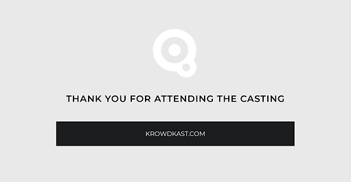 Krowdkast   The professional Model, Actor and Influencer casting plaform.
