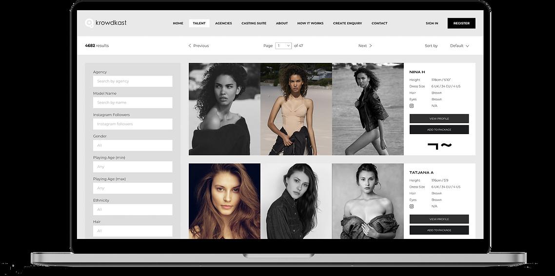 Krowdkast | The professional casting platform. Models | Actors | Infliuencers