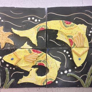 Four Tile Panel
