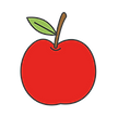 cartoon-simple-red-apple-isolated-vector