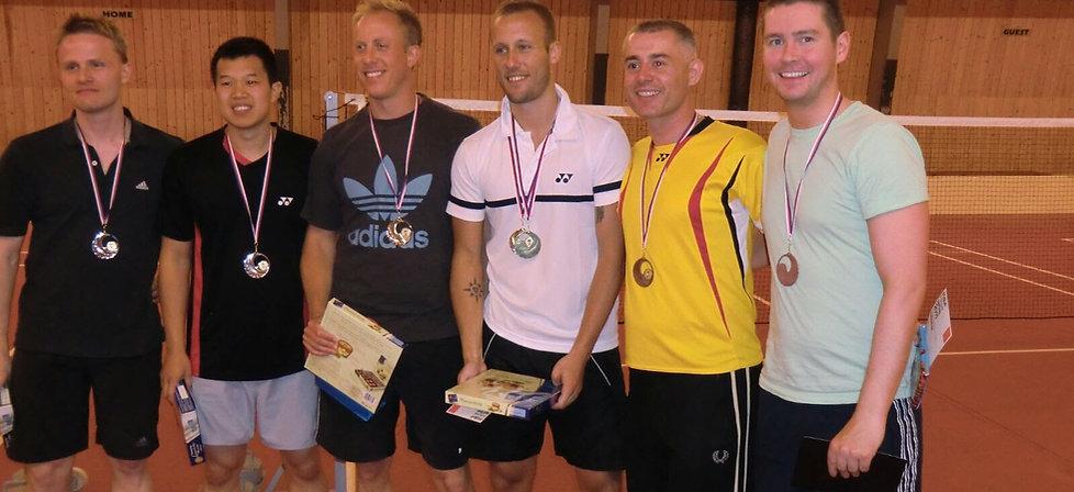 European gay badminton tournament St Gabriel's