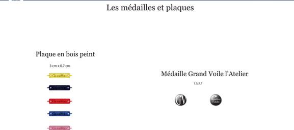 files graphiques médailles et plaques