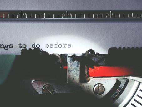 ¿Agenda o no agenda? Cuando un checklist es necesario...