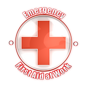 Emergencey First Aid at Work first aid sign