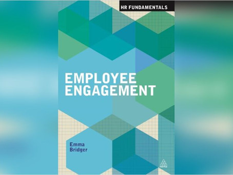 Resource of the week (#10); Employee Engagement by Emma Bridger