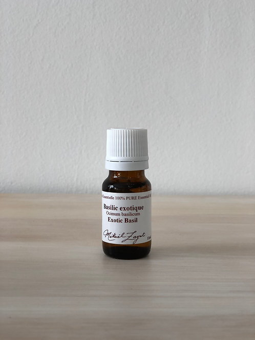 Basil Exotic Organic 11ml