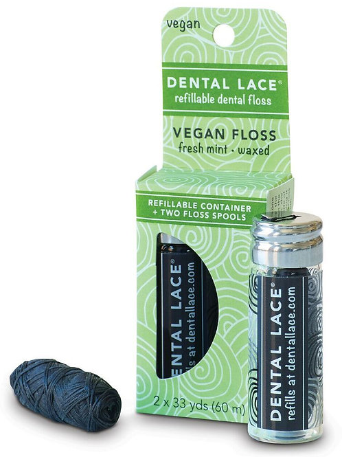 Vegan Refillable Dental Floss – Dental Lace