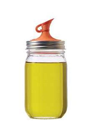 Mason Jar Oil Cruet