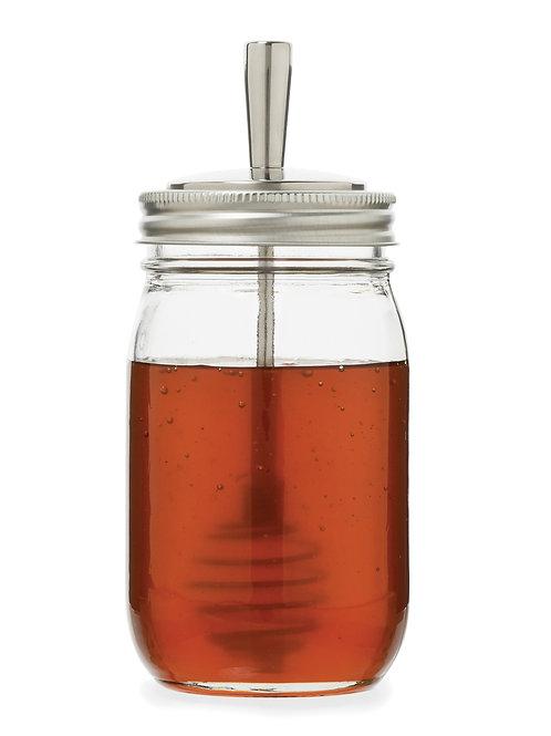 Stainless Steel Honey Dipper