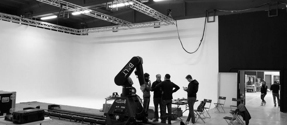 New Motion Capture Technology Studio!