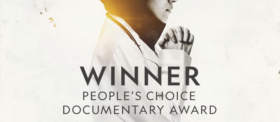 PEOPLE'S CHOICE DOCUMENTARY AWARD WINNERS!