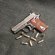 SIG Sauer P238 Rosewood Semi Automatic Pistol .380 ACP