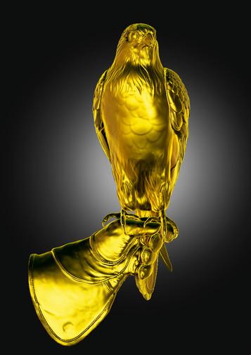 Faucon d'or - Usine à sculptures