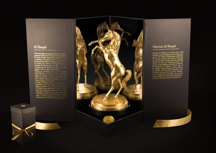 Cheval arabe, Arabic Horse - Usine à sculptures