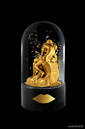 Globe Le Baiser Rodin - Usine à sculptures