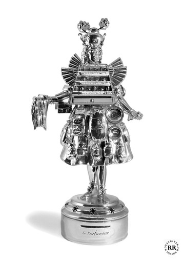 Le parfumeur - Usine à sculptures