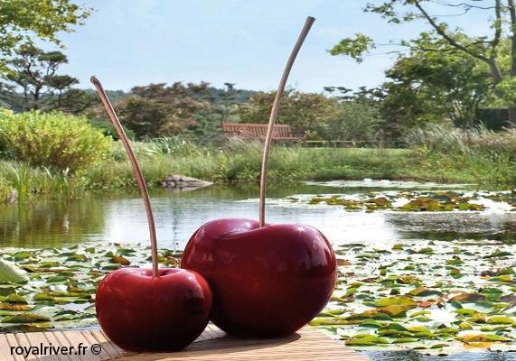 Cerises - Cherries - Usine à sculptures