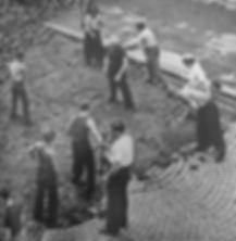 ouvrier pavés parisiens fragments d'histoire