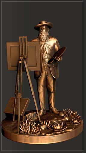 Monet - Usine à sculptures