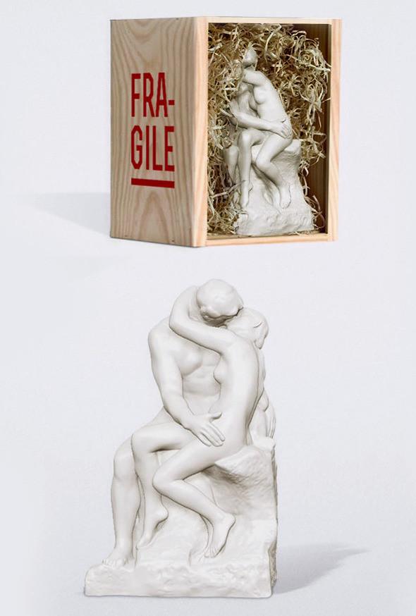 Le baiser de Rodin - Musée Rodin - Usine à sculptures