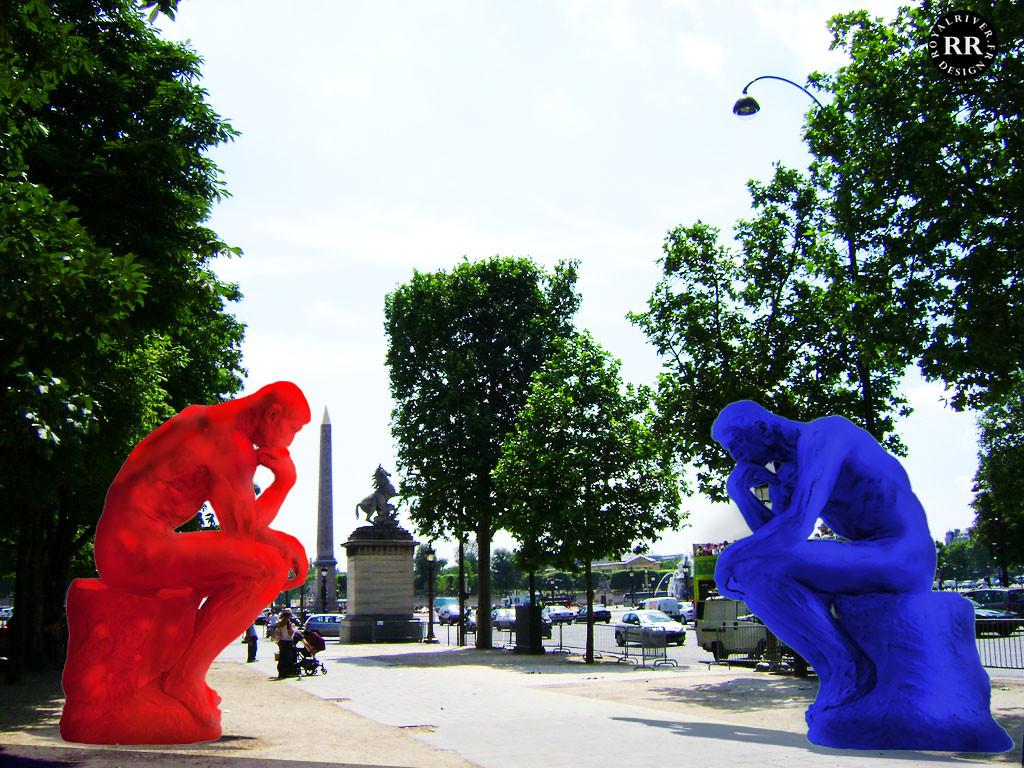 Rodin Le penseur - Usine à sculptures