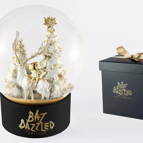 Snow Glob' Barneys NY - Baz Dazzled Holiday