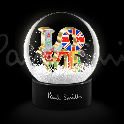 Snow Glob' Paul Smith