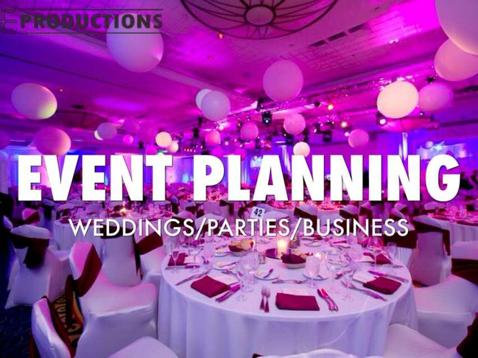 WHAT IS AN EVENT PLANNER?