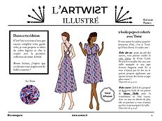 artwist illustré ensemble V robes été.pn