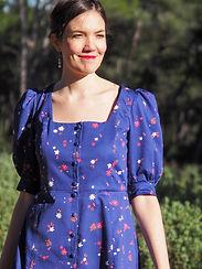 Robe Flanerie - Tissu Coton Bio Artwist