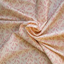 Tissu Coton Bio L'Envolée Rose- Artwist