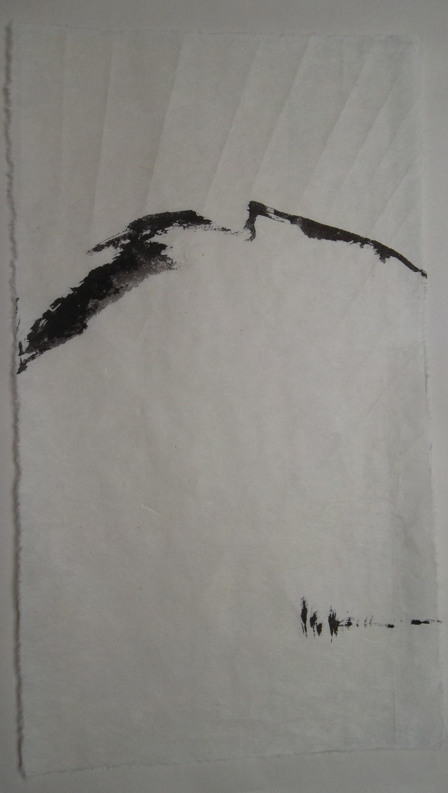 montagne  encre/papier vietnamien