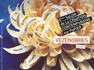 Salon Arts et Papier à Vézenobres Gard