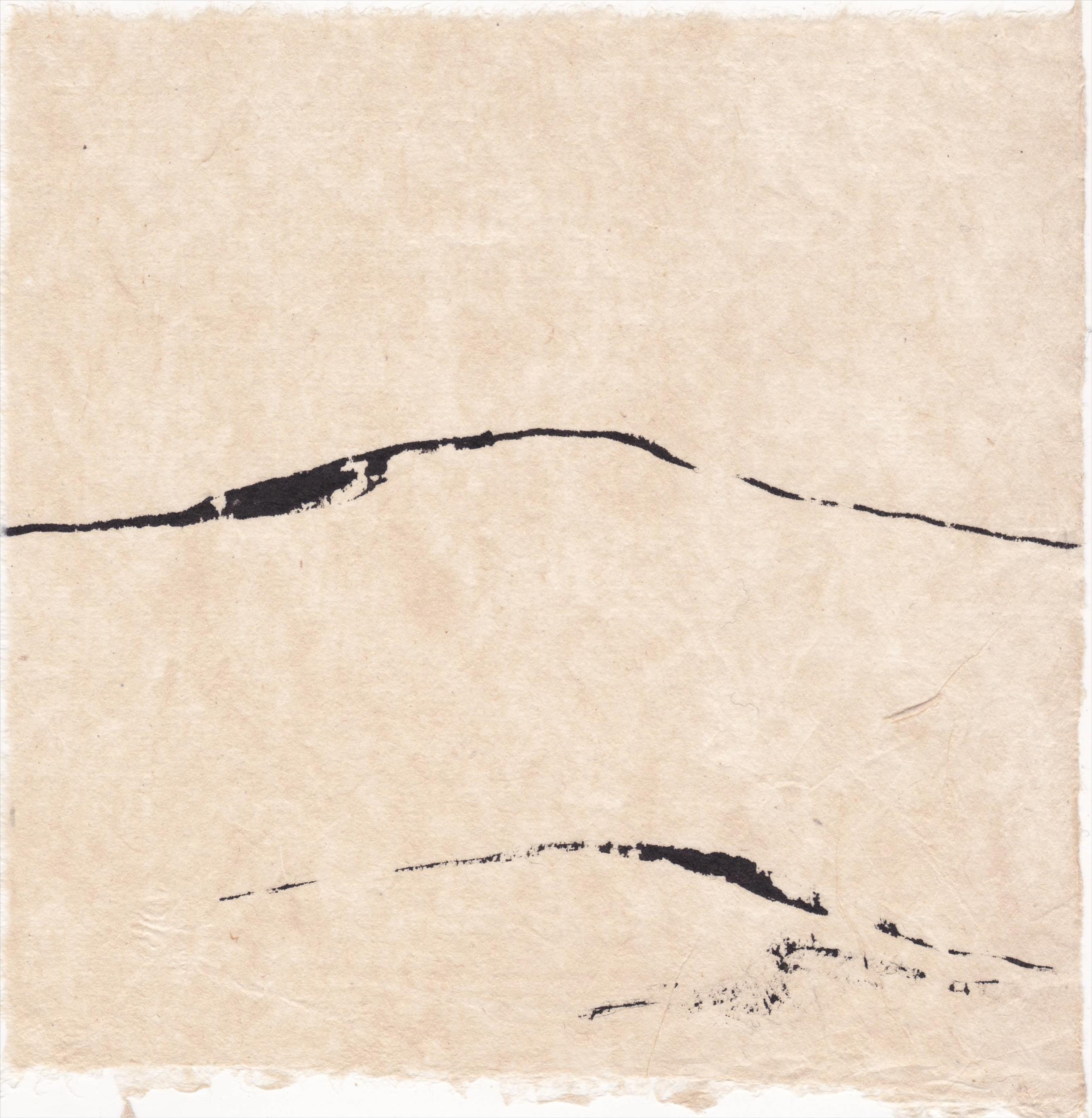 montagne : papier écru vietnamiem