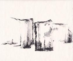rocher faille encres  23x23